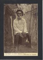 CPA Australie Australia Aborigènes écrite Type Roi King - Aborigènes