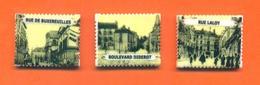 Lot De 3 Feves Personalisées De Chaumont - Timbres - Cartes Postales Anciennes - Olds
