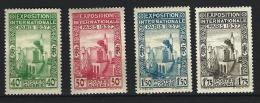 """Algerie YT 127 à 130 """" Expo Internationale De Paris """" 1937 Neuf** - Algérie (1924-1962)"""