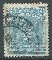 Compagnie Britannique De L'afrique Du Sud   Yvert N°60 Oblitéré  -  Ad 38104 - South Africa (...-1961)