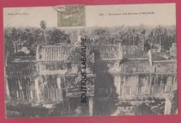 CAMBODGE--Souvenir Des Ruines D'Angkor---Précurseur - Cambodia