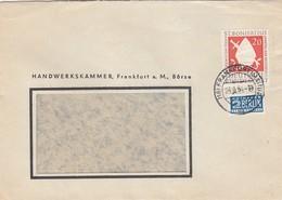 LETTRE BUND. NOTOPFER 2 BERLIN. FRANKFURT  / 2 - Lettres & Documents