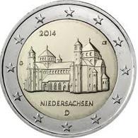 2 Euro UNC (Niedersachsen)  WCC:km334 SERIE G - Slovacchia