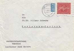 LETTRE BUND. NOTOPFER 2 BERLIN. TÜBINGEN  / 2 - BRD