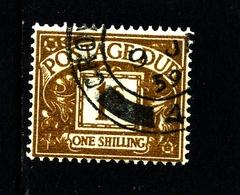 GREAT BRITAIN - 1955 POSTAGE DUE EDWARD CROWN WMK  1s   FINE USED  SG D53 - Tasse
