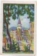 Zigarettenfabrik W. Lande Dresden: Deutschtum Im Ausland, Bild 84: Deutsche Haus - Cigarette Cards