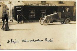CPA Photo Haute Marne - Saint Dizier Auto Mitrailleuse Blindé - Guerre 1914-18