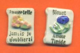 Serie Incomplète De 2/12 Feves Le Langage Des Fleurs - Moulin à Huile 1992 - Olds