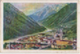 Zigarettenfabrik W. Lande Dresden: Deutschtum Im Ausland, Bild 89: Pontafel Kanaltal (Pontebba, Udine, Val Canale) - Cigarette Cards