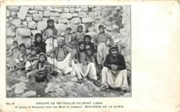 MONT LIBAN - Groupe De Metaoulis - Souvenir De La Syrie - Liban