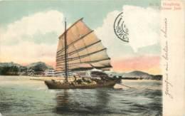 HONG KONG - Chinese Junk Boat - China (Hong Kong)