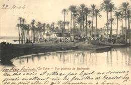 Egypte - Le Caire - Vue Generale De Bedrechen En 1904 - Cairo