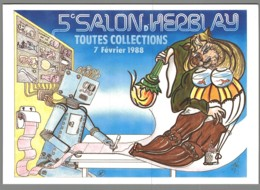 CPM 95 - Herblay - 5ème Salon Toutes Collections - 1988 - Illustration De Christian Deflandre - Herblay