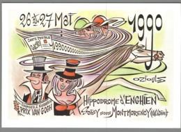 CPM 95 - Enghien Les Bains - 2ème Rencontre Des Créateurs - 1990 - Dessin De H Oziouls - Enghien Les Bains