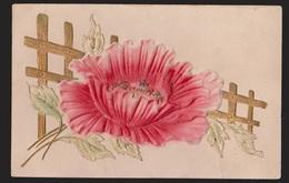 General Greetings - Flower - Used - Raised Transfer - Greetings From...