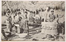 Togo  Frauen Stampfen Fufu - Togo