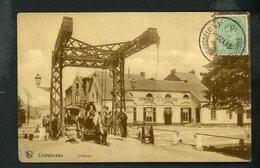 CPA - BELGIQUE - CHATELINEAU - L'ÉCLUSE - Châtelet