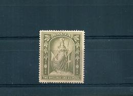 MALTA 1919 ALLEGORIA 2/6 FILIGRANA CA MULTIPLA NUOVO SENZA LINGUELLA - Malta