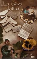 LES  CHERES LETTRES ..Belle Carte - War 1914-18