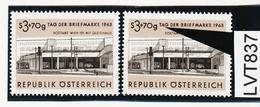 """LVT837 ÖSTERREICH 1963 Michl 1144 PLATTENFEHLER FARBSTRICH Auf """"A"""" ** Postfrisch - Abarten & Kuriositäten"""