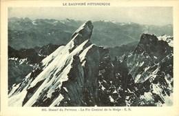 CPA - HAUTES-ALPES - Massif Du Pelvoux, Le Pic Central De La Meije (803) - Other Municipalities
