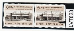 """LVT823 ÖSTERREICH 1963 Michl 1144 PLATTENFEHLER FARBFLECK über """"E"""" ** Postfrisch - Abarten & Kuriositäten"""