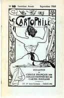 LE CARTOPHILE  SEPTEMB 1968  N° 10  -  20 PAGES  LA FIN DES BANDITS TRAGIQUES   LA POSTE EN ...POULBOT  Etc . - Français