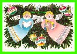 NOEL - CHRISTMAS - POST PAID - LES ANGES CHANTENT DANS L'ARBRE DE NOEL - - Noël