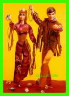 POUPÉE - NOSTALGIC BARBIE - LIVE ACTION BARBIE & KENT, 1971 - THE AMERICAN POSTCARD CO - - Games & Toys