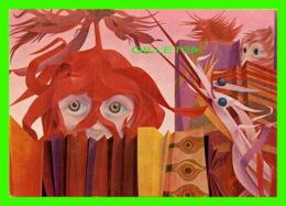 ART, PEINTURE - WOLFGANG HUTTER (1928-2014) - PEINTRE AUTRICHIEN - LES NOUVEAUX INVITÉS - - Peintures & Tableaux