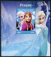 Mali 2018 MNH Frozen Elsa 1v M/S Disney Cartoons Animation Stamps - Disney