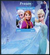 Mali 2018 MNH Frozen Elsa 1v IMPF M/S Disney Cartoons Animation Stamps - Disney