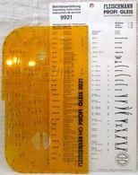 Fleischmann Profi Gleisplan Schablone 9921 1:10 H0 Schotter System Anleitung - Track