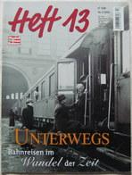 Modell Eisenbahner Heft 13 2 2002 Unterwegs Magazin Zeitschrift - Books And Magazines