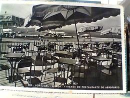 PORTOGALLO LISBOA AEROPORTO DA RISTORANTE AEREO AVION  STAMP TIMBRE SELO 2,50 RUI GAMEIRO + 0,50 VINHO PORTO GX5757 - Lisboa