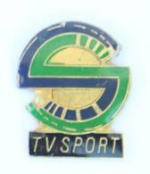 Pin's TV SPORT - Le Logo - H516 - Medias