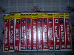 Cassette VHS - Commedia All' Italiana, 12 Volumi - Commedia