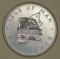 Isle Of Man - 5 Pence - 1976 - Elizabeth II - UNC - Monete Regionali
