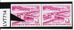 """LVT714 ÖSTERREICH 1962 Michl 1104 PLATTENFEHLER FARBFLECK über """"A"""" SIEHE ABBILDUNG - Abarten & Kuriositäten"""
