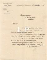 5-1689   Facture  1927  TRAVAUX PUBLICS CHARLES DELTRAZ A BELLEGARDE SUR VALSERINE - M. RIGOLLET A AMBERIEU EN BUGEY - France