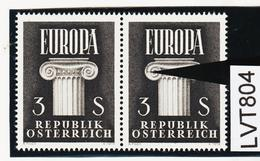 LVT804 ÖSTERREICH 1960 Michl 1081 PLATTENFEHLER FARBFLECK SIEHE ABBILDUNG - Abarten & Kuriositäten
