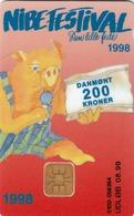 DENMARK - Nibe Festival '98, DD182  04/98, Tirage 1.200,  Used - Denmark
