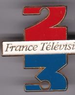 Pin's   FRANCE 2 ET FRANCE 3 - Medias