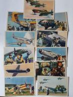 CPA - Série De 11 Cartes De ALBERT BRENET - Aviation