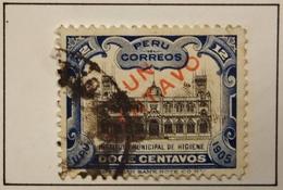 1907 Pérou Mi:PE 123, Sn:PE 166, Yt:PE 131 - National Institute Of Hygiene In Lima - Oblitéré - Peru