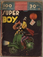 B D SUPER BOY N° 19   EDITIONS IMPERIA - Piccoli Formati