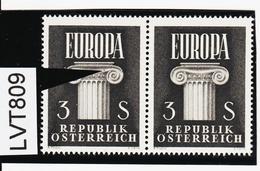 LVT809 ÖSTERREICH 1960 Michl 1081 PLATTENFEHLER FARBFLECK ** Postfrisch SIEHE ABBILDUNG - Abarten & Kuriositäten