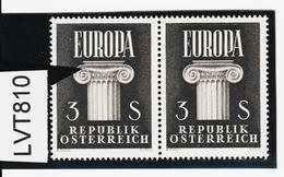 LVT810 ÖSTERREICH 1960 Michl 1081 PLATTENFEHLER FARBFLECK ** Postfrisch SIEHE ABBILDUNG - Abarten & Kuriositäten