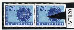 LVT820 ÖSTERREICH 1956 Michl 1026 PLATTENFEHLER FARBFLECK ** Postfrisch SIEHE ABBILDUNG - Abarten & Kuriositäten