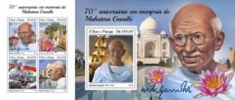 Z08 ST18404ab Sao Tome And Principe 2018 Mahatma Gandhi MNH ** Postfrisch Set - Sao Tomé E Principe